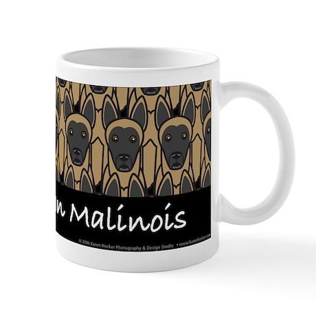 I Love Belgian Malinois Mug