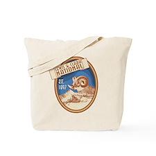 Lewis and Clark Bighorn Badge Tote Bag