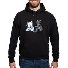 KiniArt™ Terrier Twosome Hoodie
