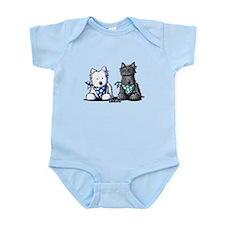 KiniArt™ Terrier Twosome Infant Bodysuit