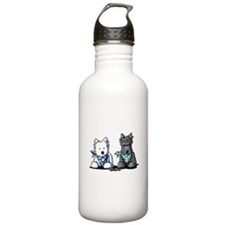 KiniArt™ Terrier Twosome Water Bottle