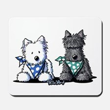 KiniArt™ Terrier Twosome Mousepad
