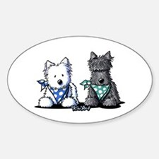 KiniArt™ Terrier Twosome Decal