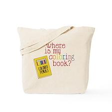 Coloring Book Tote Bag