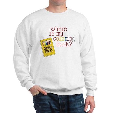 Coloring Book Sweatshirt