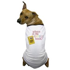 Coloring Book Dog T-Shirt
