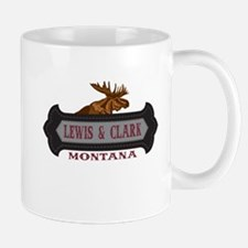 Lewis Clark Fleur de Moose Mug