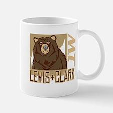 Lewis Clark Grumpy Grizzly Mug