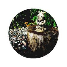 """ONU Frog Art 3.5"""" Button (100 pack)"""