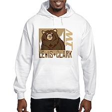 Lewis Clark Grumpy Grizzly Hoodie