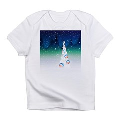 Barack Obama Snowball Christmas Tree Infant T-Shir