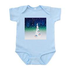 Barack Obama Snowball Christmas Tree Infant Bodysu