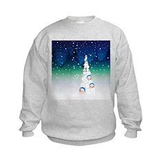 Barack Obama Snowball Christmas Tree Sweatshirt