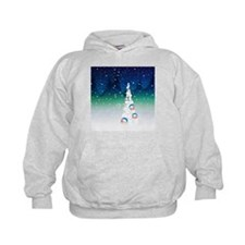 Barack Obama Snowball Christmas Tree Hoodie