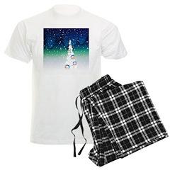 Barack Obama Snowball Christmas Tree Pajamas