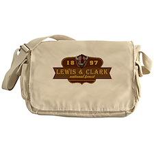 Lewis Clark National Park Crest Messenger Bag