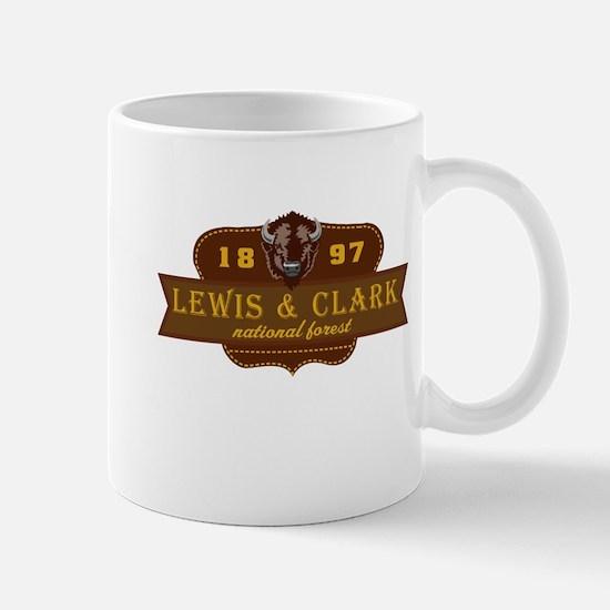 Lewis Clark National Park Crest Mug