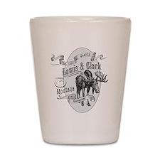Lewis Clark Vintage Moose Shot Glass