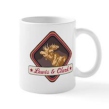 Lewis Clark Pop-Moose Patch Mug
