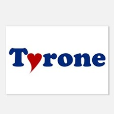Tyrone with Heart Postcards (Package of 8)