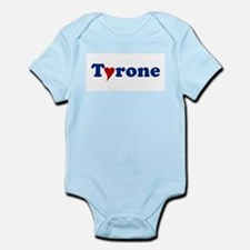 Tyrone with Heart Infant Bodysuit