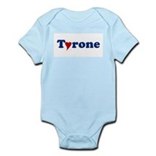 Tyrone with Heart Onesie