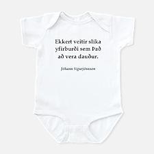 Death's Advantage (IS) Infant Bodysuit