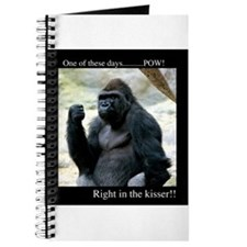 Pow! Right in the Kisser!! Journal