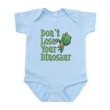 Dont Lose Your Dinosaur Infant Bodysuit