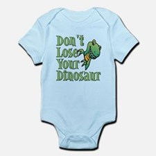 Dont Lose Your Dinosaur Infant Bodysuit