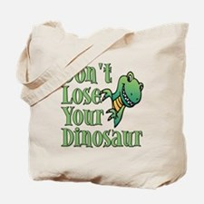 Dont Lose Your Dinosaur Tote Bag