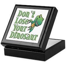 Dont Lose Your Dinosaur Keepsake Box