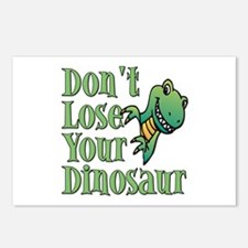 Dont Lose Your Dinosaur Postcards (Package of 8)