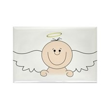 Little Angel Rectangle Magnet