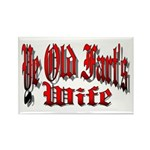 Ye Old Fart's Wife Rectangle Magnet (10 pack)