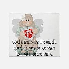 Cute Friendship Throw Blanket