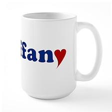 Tiffany with Heart Mug