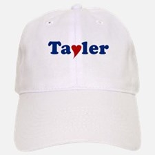 Tayler with Heart Baseball Baseball Cap
