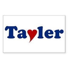 Tayler with Heart Decal