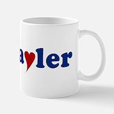 Tayler with Heart Mug