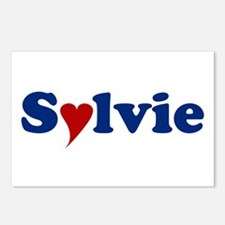 Sylvie with Heart.jpg Postcards (Package of 8)