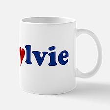 Sylvie with Heart.jpg Small Small Mug