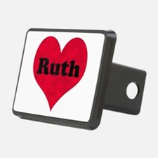 Ruth Leather Heart Hitch Cover