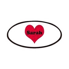Sarah Leather Heart Patch