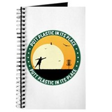 Putt Plastic In Its Place #9 Journal