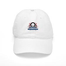 Hockey Grandma (cross).png Baseball Cap