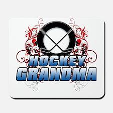Hockey Grandma (cross).png Mousepad