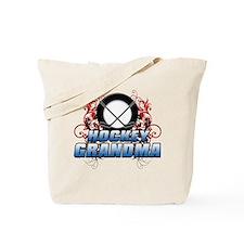 Hockey Grandma (cross).png Tote Bag