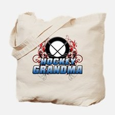 Hockey Grandma (cross).png Tote Bag