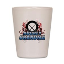 Hockey Grandma (cross).png Shot Glass